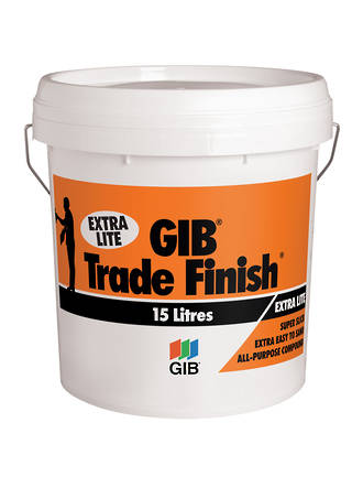 Gib Trade Finish Extra Lite 15ltr