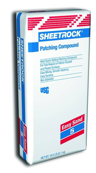 USG Sheetrock EasySand 5 min Patching Compound 8.1kg